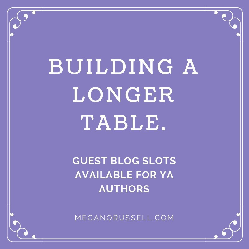 Guest Blog Spots for YA Authors