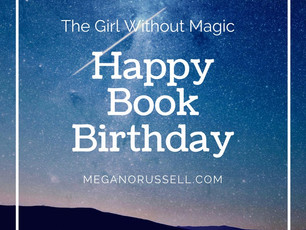 One Week Book Birthday!