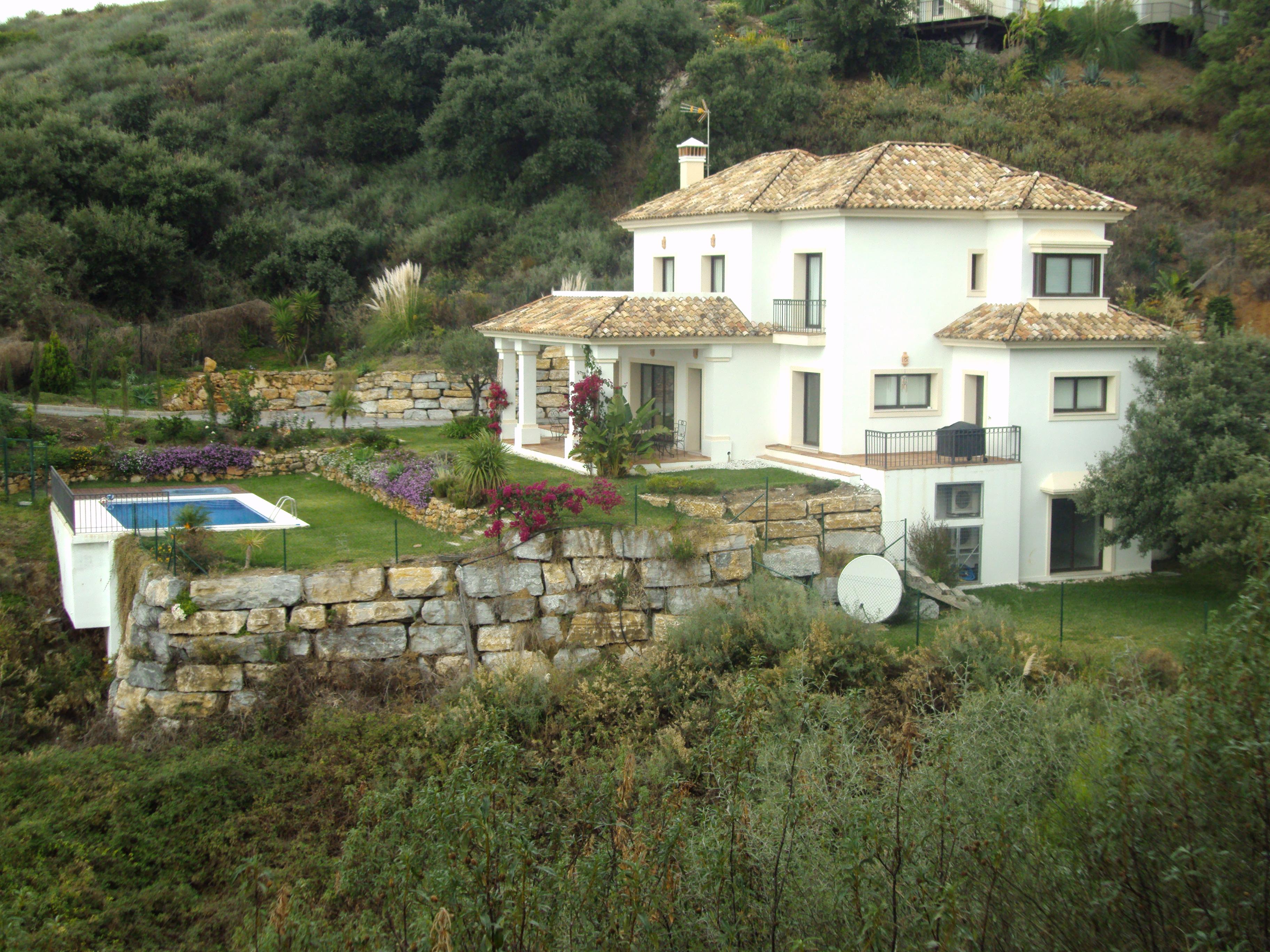 Exteriro Villa Marina
