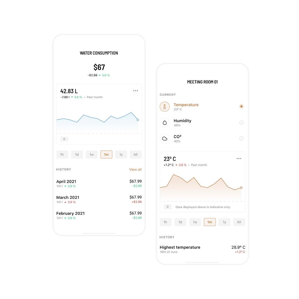 FLOW dashboards in the Spaceflow app