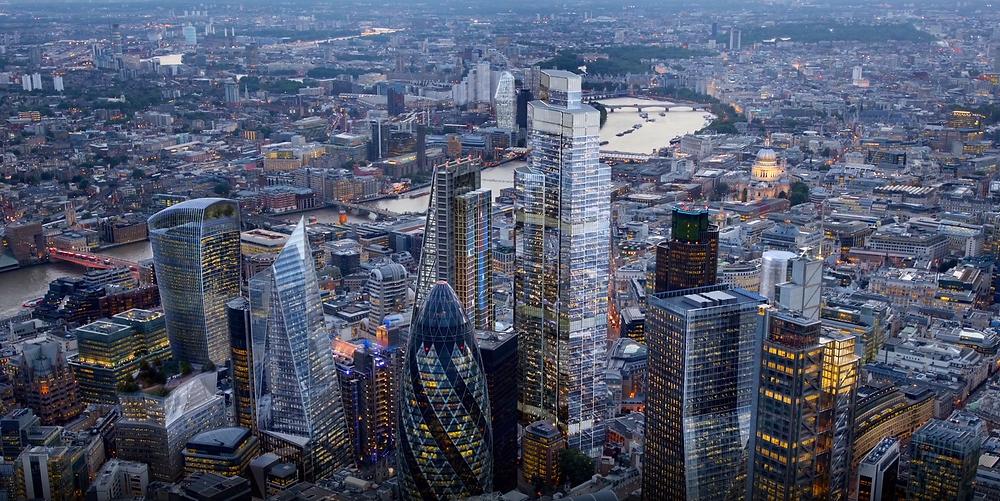 London's under-construction 22 Bishopsgate skyscraper