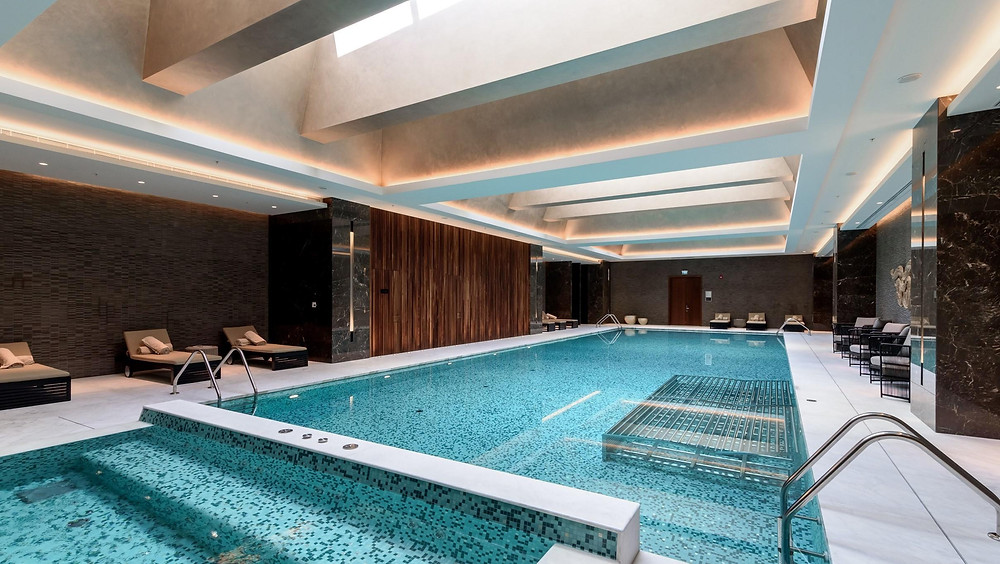Our client Talan Towers includes Ritz-Carlton residencies with a modern spa