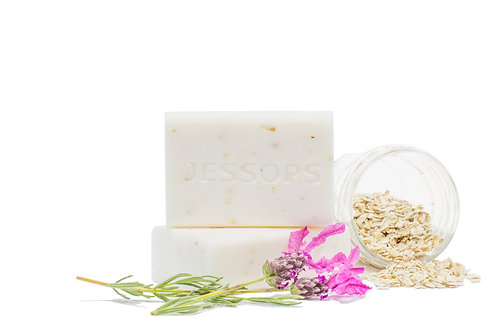 Art of Handmade Oatmeal Lavender Soap