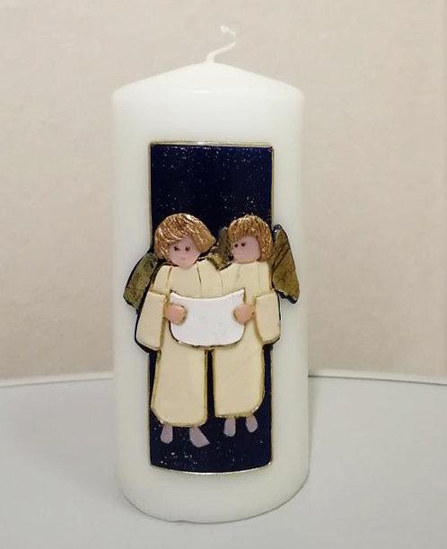 Kerze Singende Engel