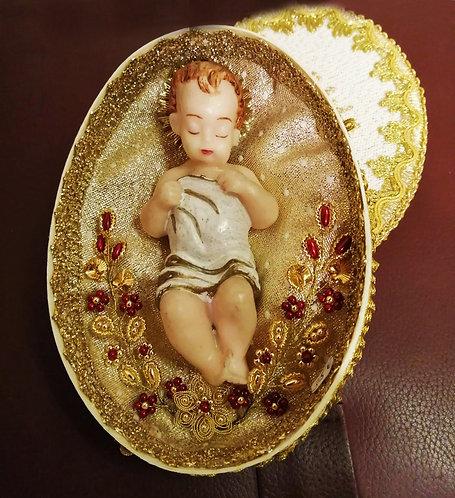 Klosterarbeit Wachs-Jesuskind