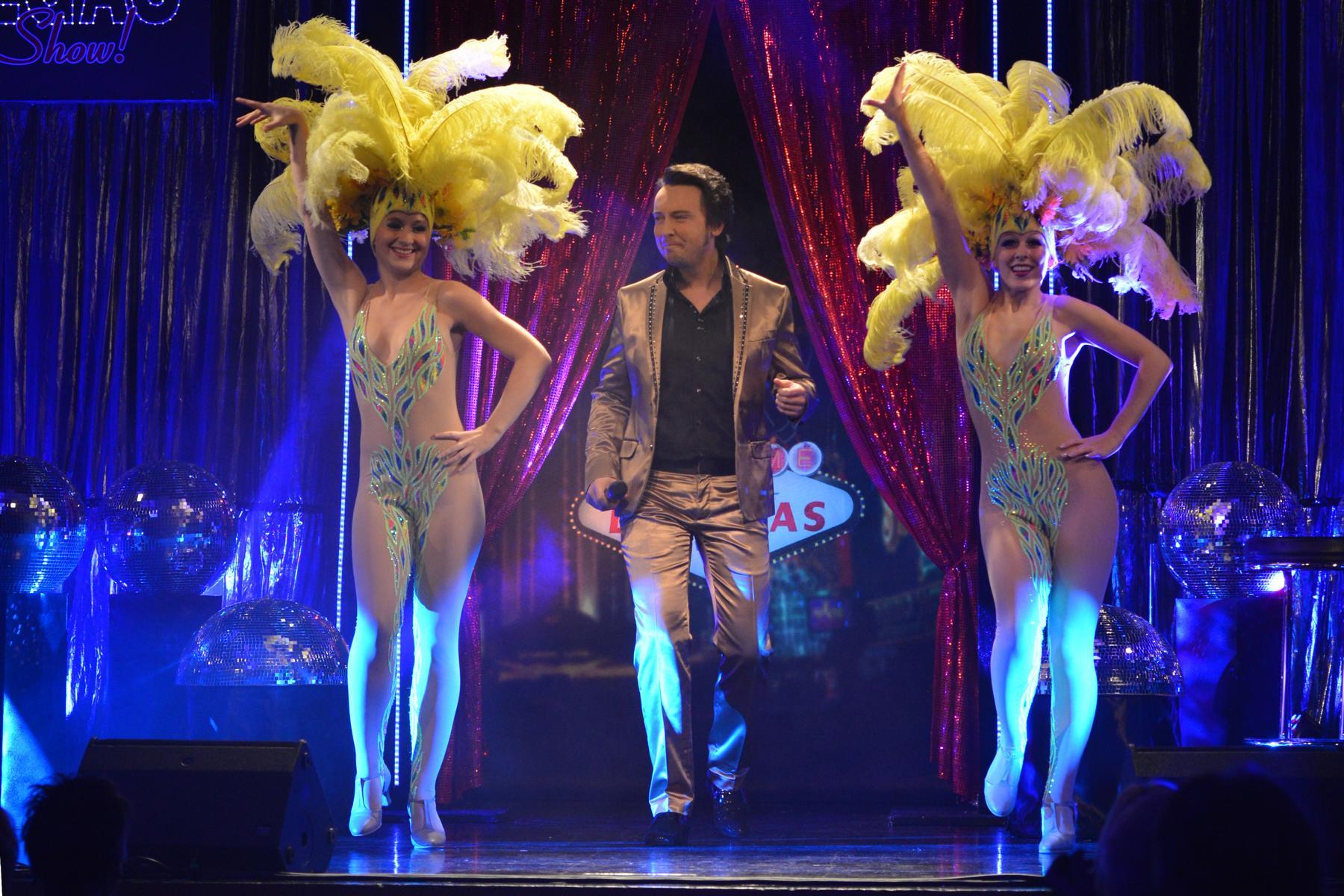 Armin Stöckl mit Showballett