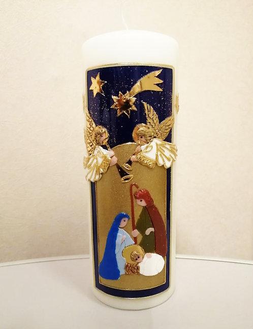 Kerze Heilige Nacht