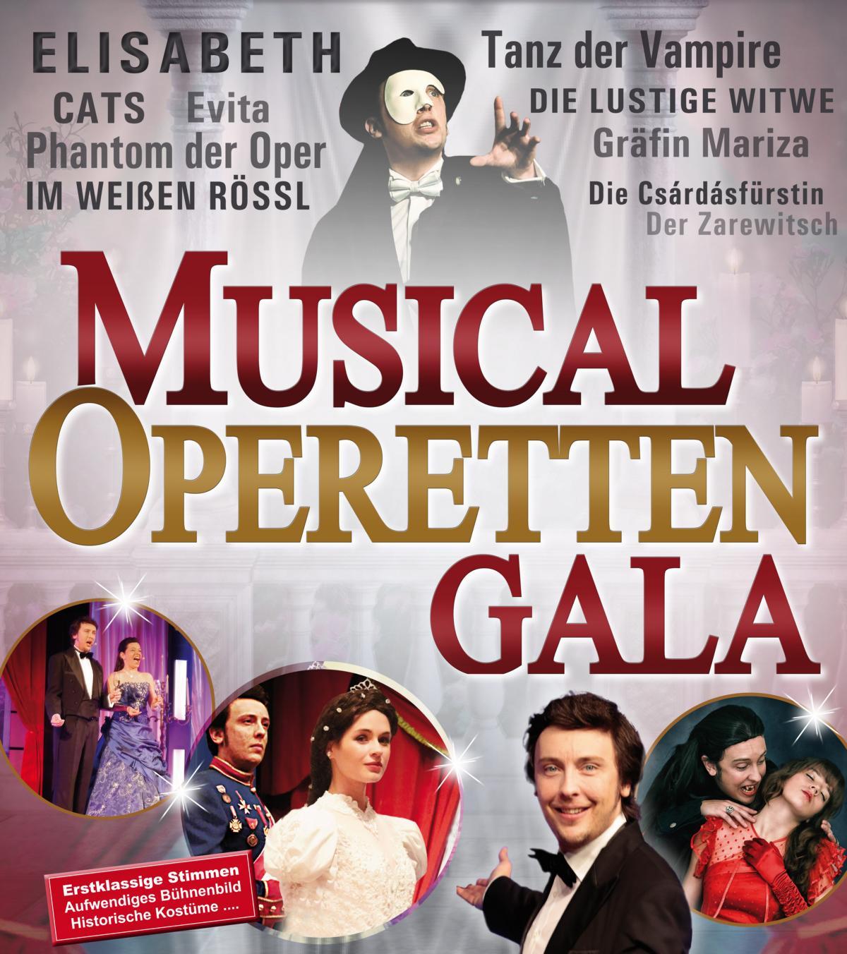 Musical - & Operettengala