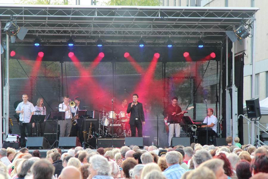 Armin Stöckl mit Band