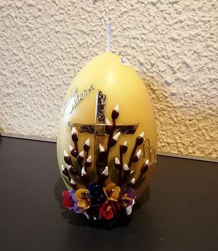 Kerze Gesegnete Ostern