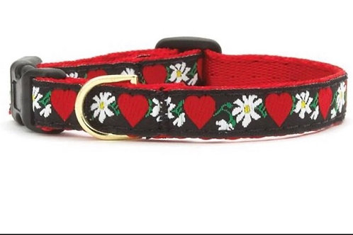 Sweet Valentine Dog Collar, S