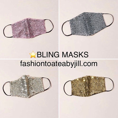 Bling masks