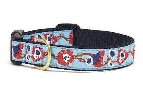 Boho Floral Dog Collar, M or L