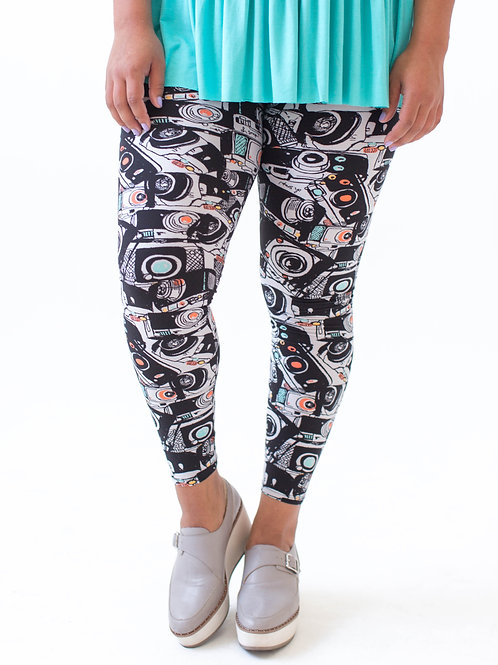 Leggings Cameras, XL