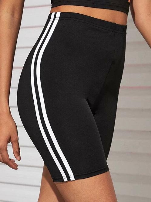 Sporty Biker Shorts, M