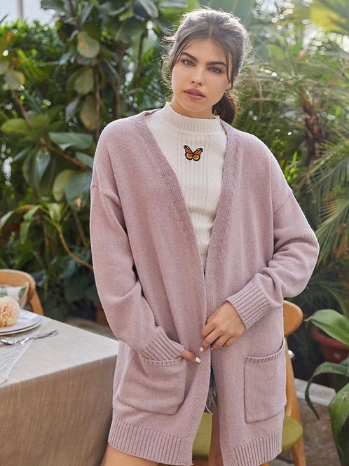 Blush Orchid Knit Cardi, S