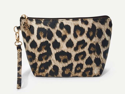 Animal Print Makeup Bag