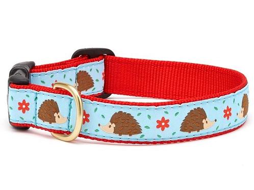 Hedgehogs Dog Collar, S