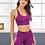 Thumbnail: Purple Workout  Set, L