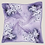"Thumbnail: Purple Floral Scarf , 22"""