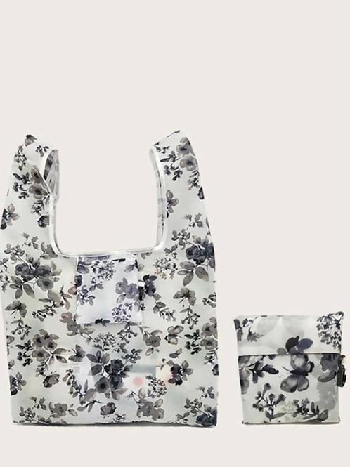 Boho Butterflies Foldable Tote Bag