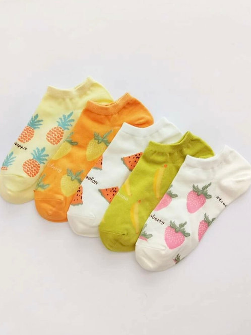 Fruit socks 5 pack