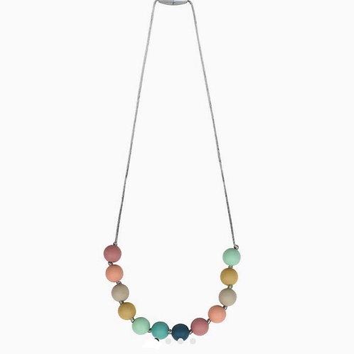 Rainbow Teething Necklace