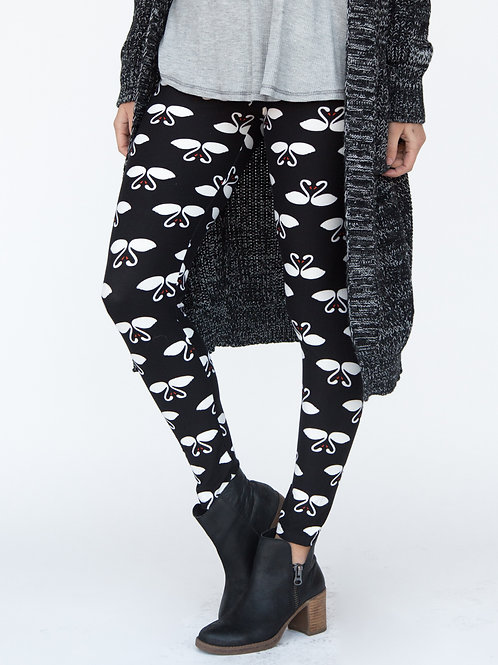 Love Birds Leggings, XL