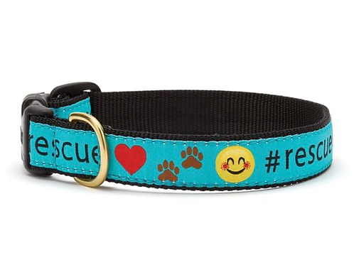 #Rescue Dog collar, S