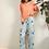 Thumbnail: Floral Pajama Set, M