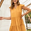 Thumbnail: Tiered Dress, mustard, S or M