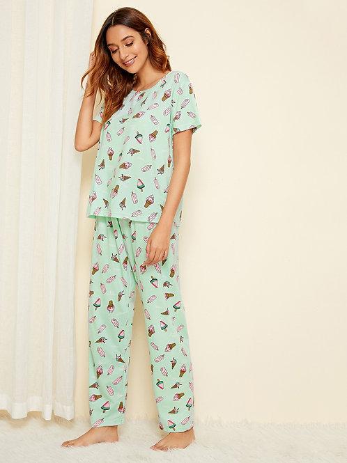 The Scoop Pajama Set, XS or S