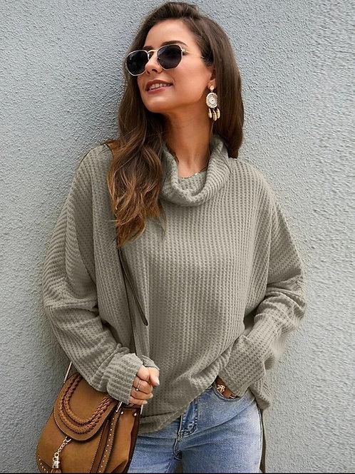 Soft Cowlneck Pullover, S
