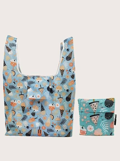 Ice Cream Treats Foldable Tote Bag