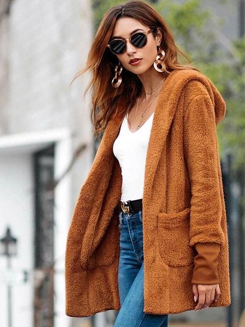 Caramel Sherpa Jacket