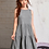 Thumbnail: Tank Tiered Dress, lt.gray, S