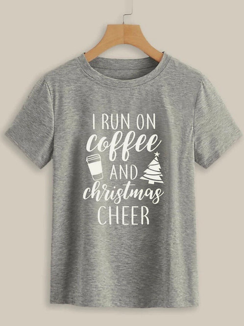 Coffee & Christmas Cheer Tee, M/L
