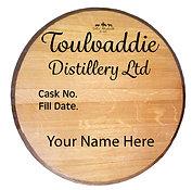 Toulvaddie Distillery 100l Cask