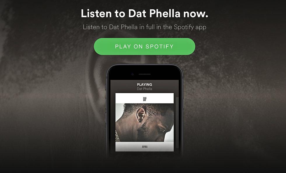 Dat Phella - Gap Album,Spotify