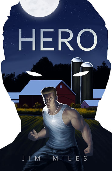 Colton Silver Hero by Jim Miles Cover Art by Brian Caleffi