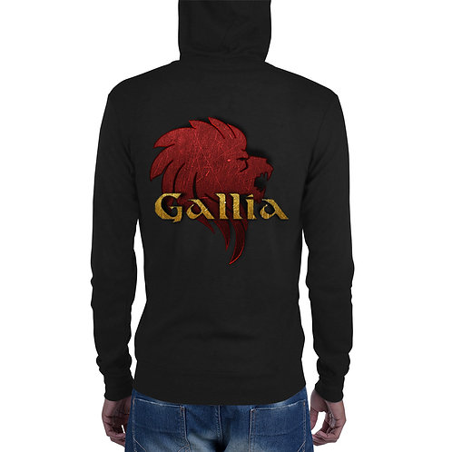 Unisex zip hoodie - Gallia