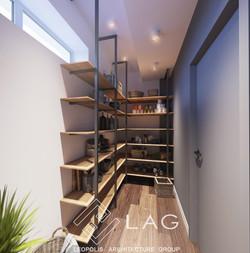 дизайн кладової кімнати