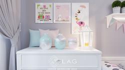 дизайн кімнати для дівчинки
