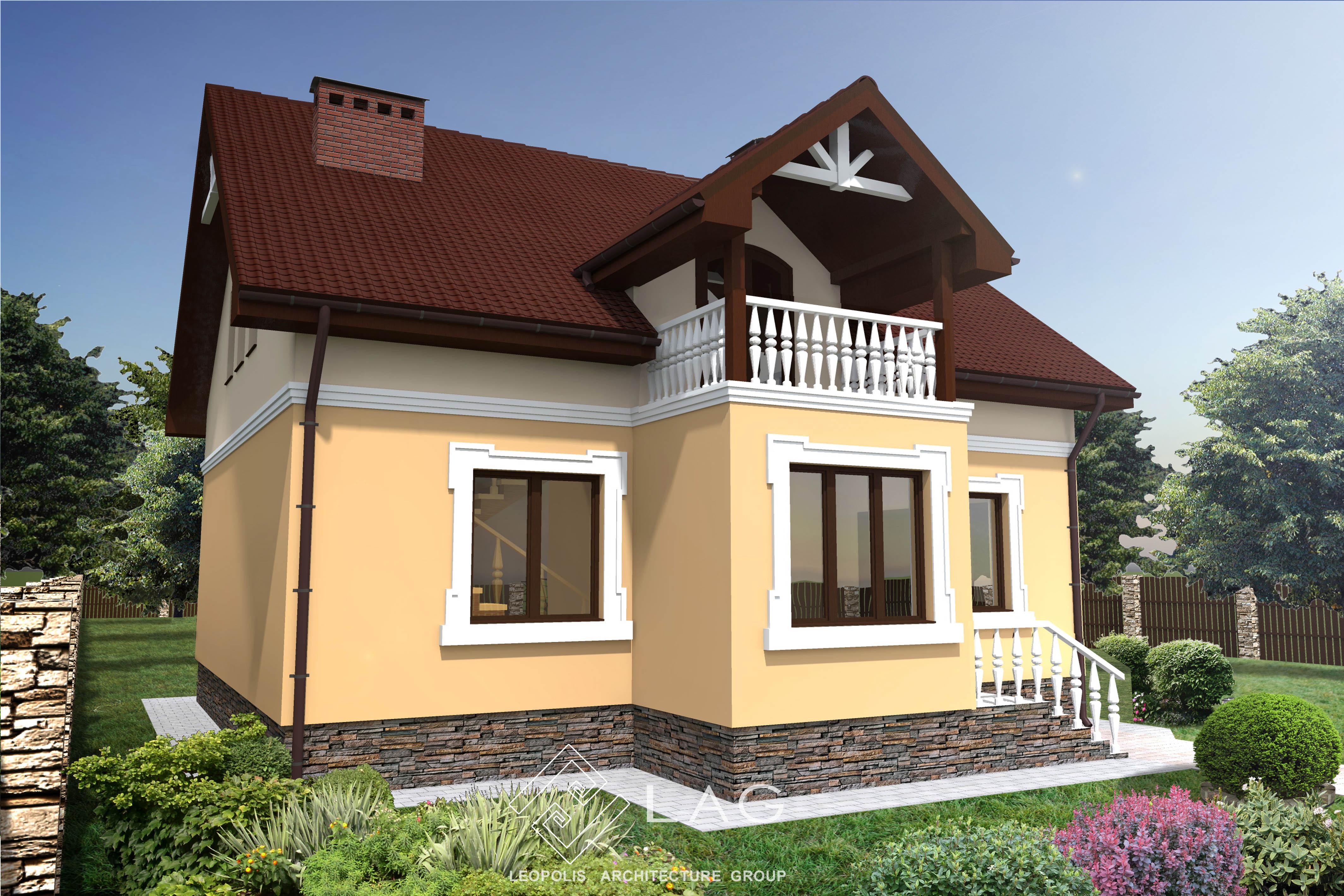 проект однородинного будинку