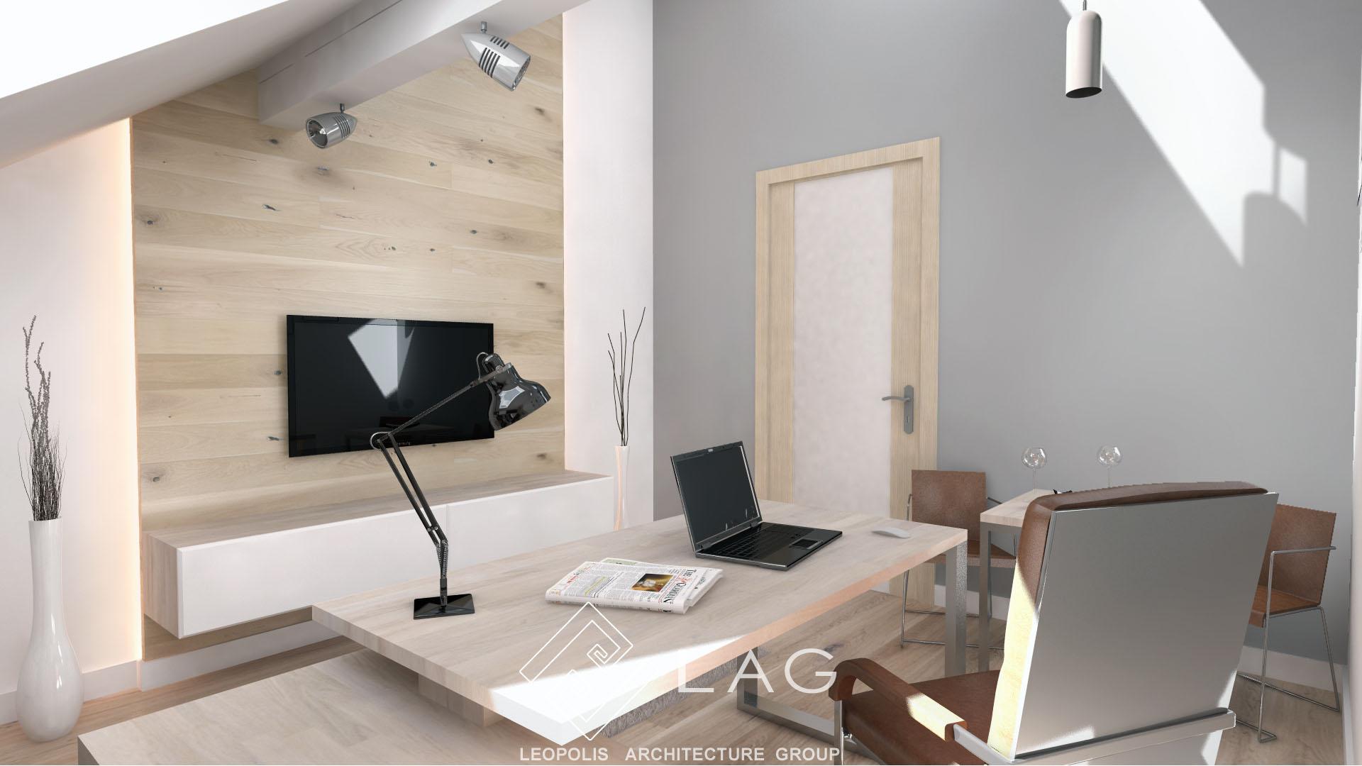дизайн інтер'єру кабінета