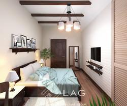 дизайн інтер'єру спальні для гостей