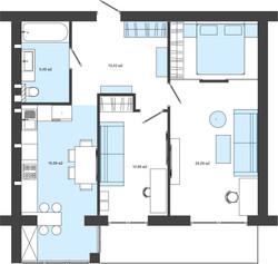 план організації простору