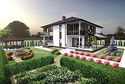 Проект будинку, проект особняка, проект дома, індивідуальне проектування, готові проекти будинків, проекты дачных домов, проект будинку з мансардою, LAG