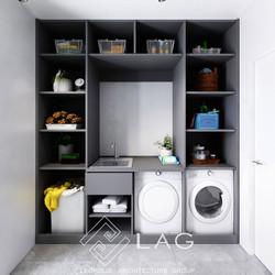 дизайн інтер'єру пральні