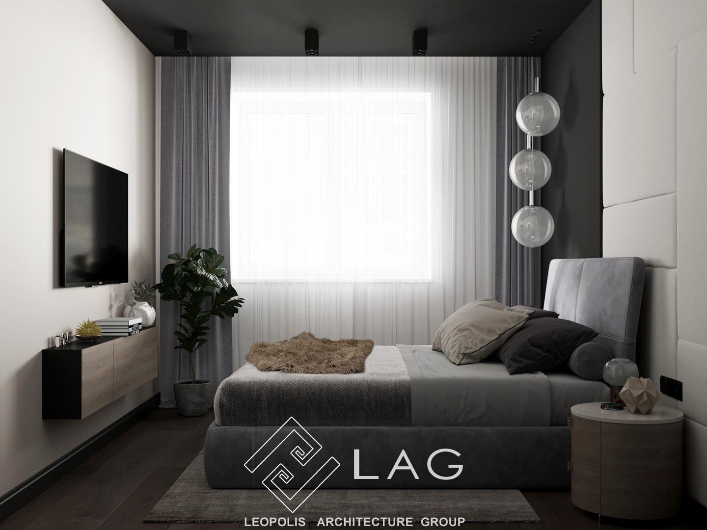 дизайн інтер'єру спальні 2
